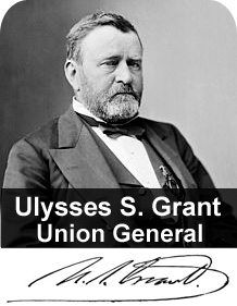 Ulysses S. Grant, Union General.