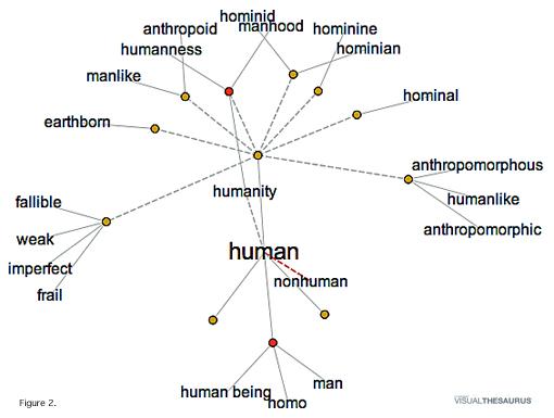 Visual Theesarus: Human