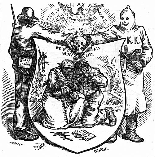 The White League and the Ku Klux Klan