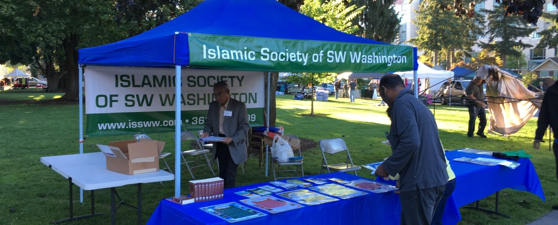 ISSWW At the Peace and Justice Fair
