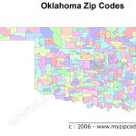 Oklahoma Map And Oklahoma Satellite Image