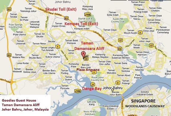 Google Satellite Map Kong Hong