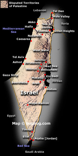 palestine map and palestine satellite images