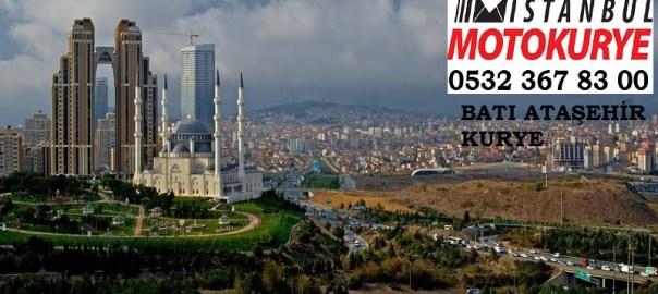 Batı Ataşehir Kurye, istanbulmotokurye.com