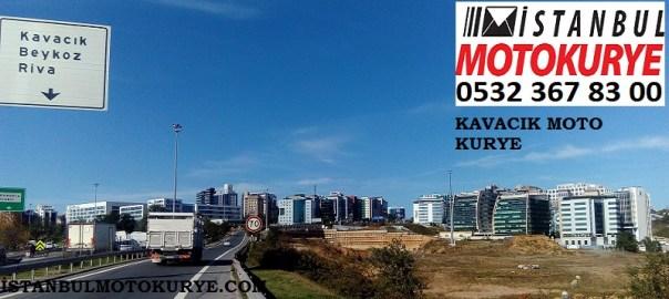 Kavacık Moto Kurye, İstanbul Moto Kurye,