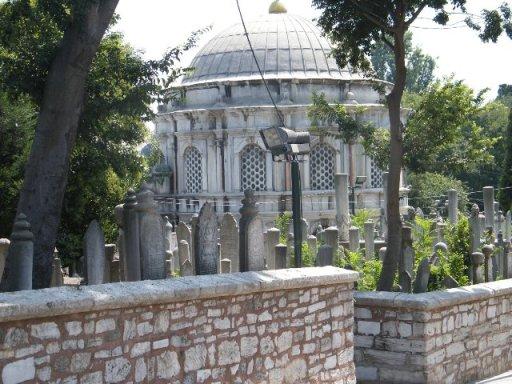Osmanische Gräber
