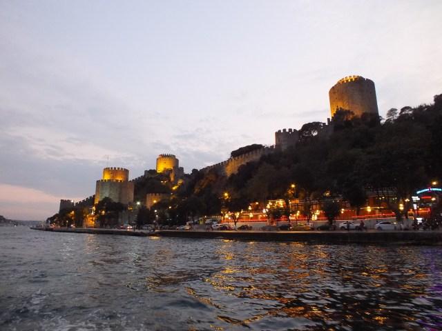 Bootsfahrt im Bosphorus