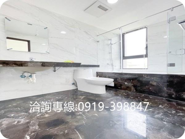 太平-旱溪河畔高樓住家~大河戀(3房+平面車位) 輕屋齡