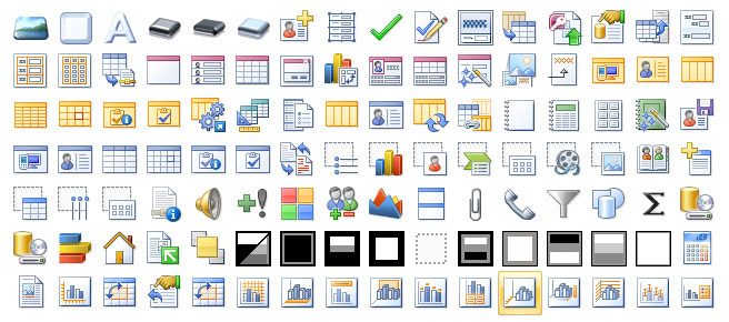 Office 2007 B2TR icons panorama
