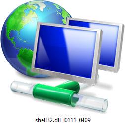Vista network icon - tubes