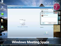 Windows Meeting Space screencast