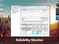 Reliability monitor screencast