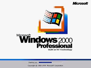 Windows 2000 bootscreen