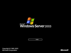 Windows Server 2003 bootscreen