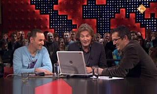 Tjeerd on Dutch TV show