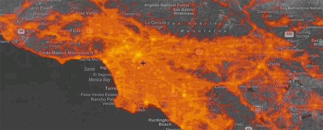 Hotmap at Los Angeles