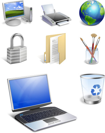 Iconfactory Windows Vista icons