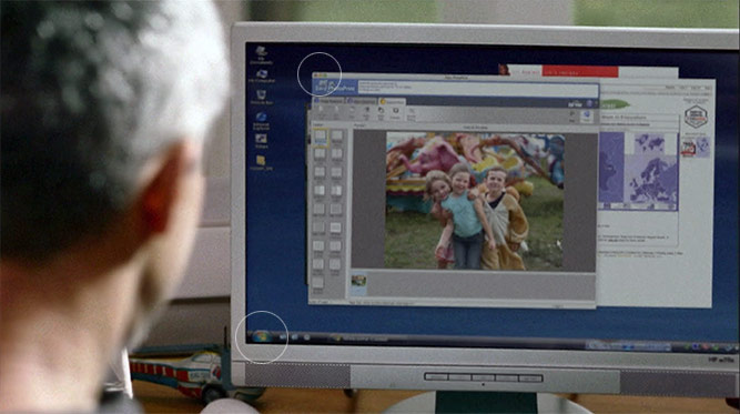 Canon shows off Windows Vista running a Mac application in TV ad