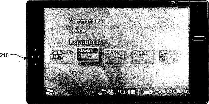 Windows-based multimedia/communication device patent image