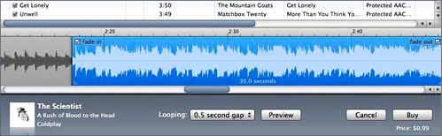 iTunes ringtone editor