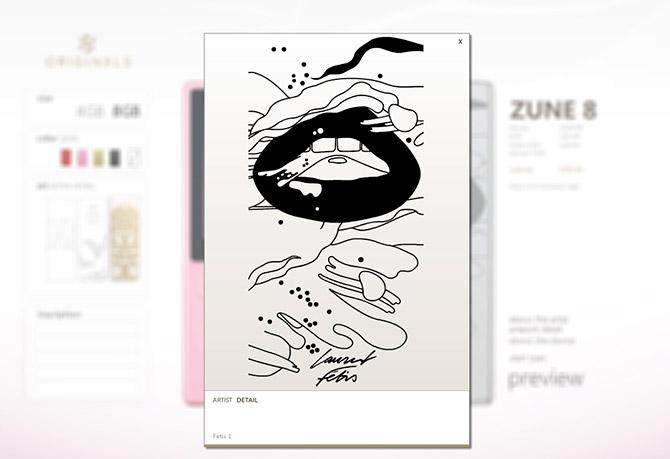 Zune Originals customization