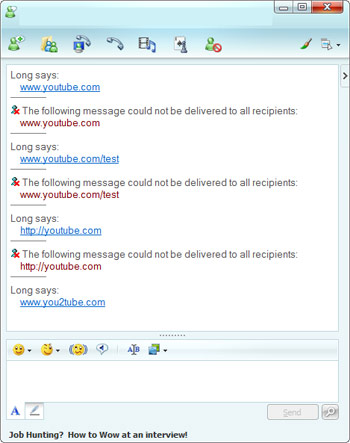 Windows live messenger not updating contacts