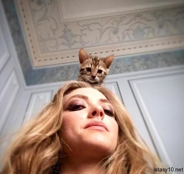 Amanda Seyfried and Cat istasy10net