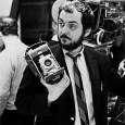"""by Dmitri Kessel Film director Stanley Kubrick holding polaroid camera during the filming of his movie """"2001: A Space Odyssey"""", 1966"""