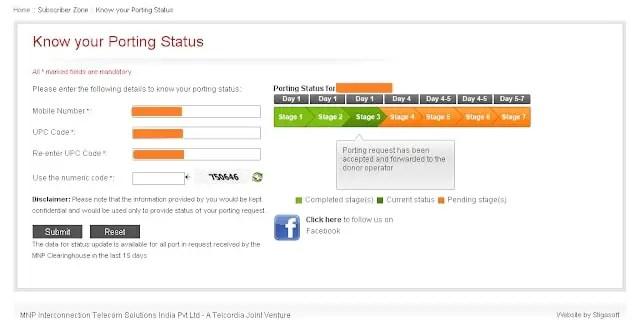 mnp status