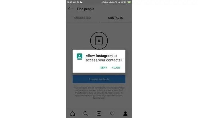 find people on instagram using phone number