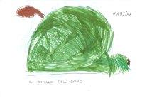 disegno cappello di un alpino