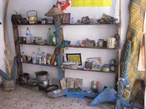 Oggetti del Museo dei migranti a Lampedusa