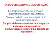 Istituto Fattorello - Lo stress mediatico in situazioni di crisi