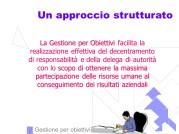 Fattorello - La Gestione degli Obiettivi
