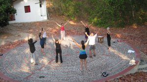 Qigong on the Labyrinth
