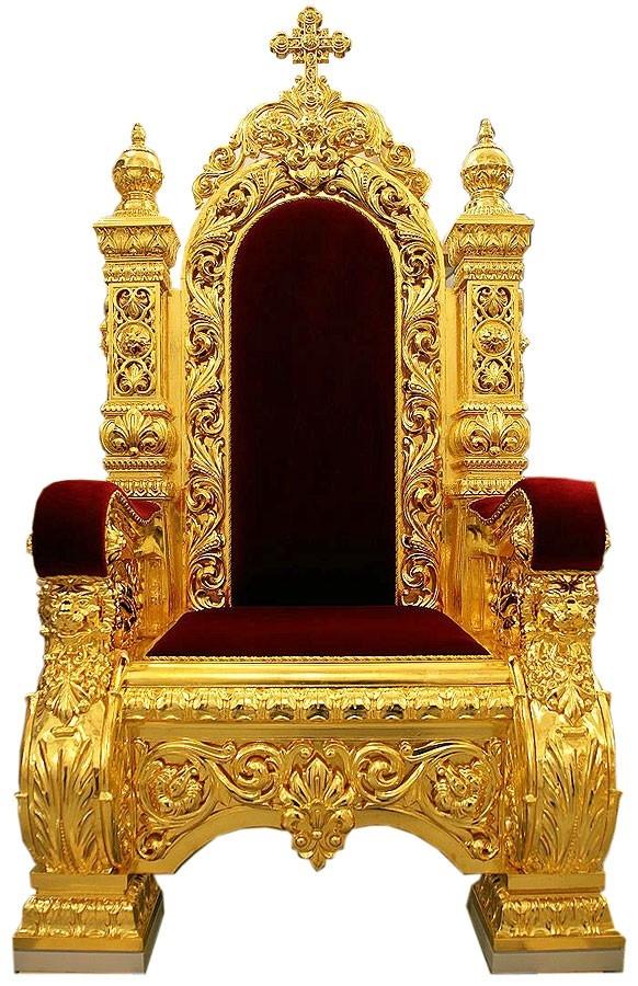 Church furniture Koursk Bishop throne  Istok Church Supplies