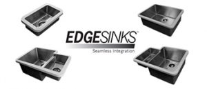 Cuves EdgeSinks - Inox + Solid Surface