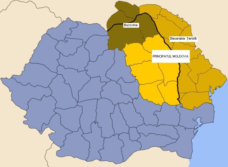 Basarabia Mare (Basarabia Ţaristă, Bessarabia)
