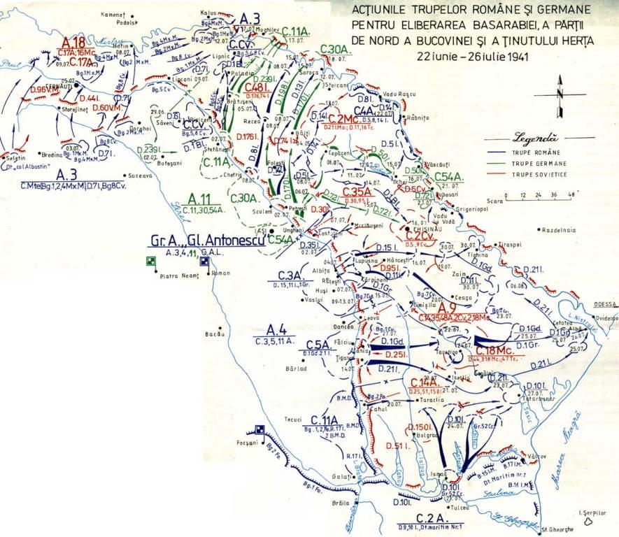 Imagini pentru harta operațiunilor militare de eliberare a basarabiei photos