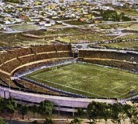 World Cup Final. 1930, Uruguay. The Centenary Stadium, venue for the first FIFA World Cup Final.
