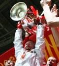 Sir Alex Ferguson cu trofeul UEFA Champions League