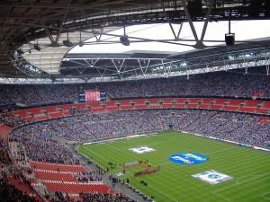 Stadionul Wembley - meci de play off in League 2, a patra divizie din campionatul englez