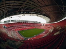 Stadionul Wembley - vedere panoramica de la nivelul superior - 2006