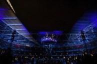 Wembley - stadionul in timpul concertului Muse