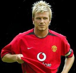 Bechkam in tricoul lui United