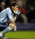 Real Madrid's Spanish goalkeeper Iker Casillas