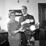 Dr Leonard Small cu sotia Jean