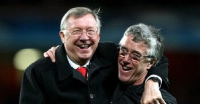 Alex Ferguson cu Albert Morgan