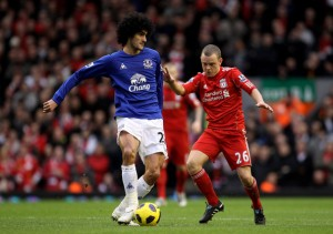 Jay+Spearing+Liverpool+v+Everton+Premier+League