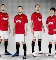 FA12 Manchester United kit pattern